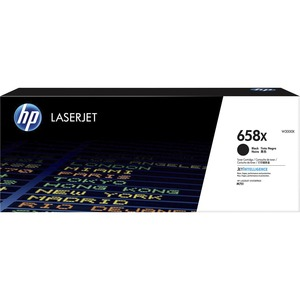 HP 658X (W2000X) HIGH YIELD BLACK ORIGINAL LASERJET TONER CARTRIDGE