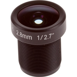 AXIS - 2.80 mm - f/1.2 - Zoom Lens for M12-mount - Designed for Surveillance Camera