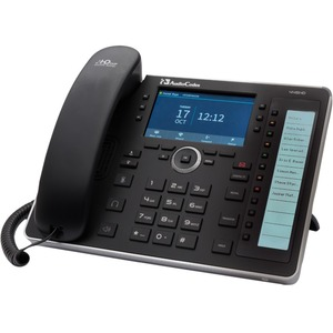 AudioCodes 445HD IP Phone - Corded - Corded/Cordless - Wi-Fi, Bluetooth