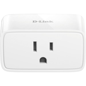 D-Link mydlink Mini Wi-Fi Smart Plug - 1 x AC Power - Google Assistant-IFTTT-Alexa-Smart H