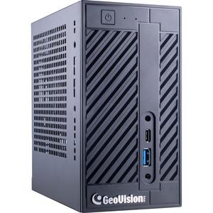 GeoVision GV-Mini UVS-NRLT256-00I5 Desktop Computer - Intel Core i5 - 8 GB RAM DDR4 SDRAM - Mini PC - Black
