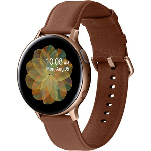 Samsung Galaxy Watch Active2 (44mm)-Gold (LTE) - Heart Rate Monitor - Text Messaging - Sle