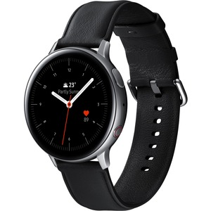 Samsung Galaxy Watch Active2 (44mm)-Silver (LTE) - Heart Rate Monitor - Text Messaging - S