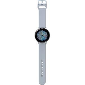 Samsung Galaxy Watch Active2 (40mm)-Cloud Silver (Bluetooth) - Accelerometer-Barometer-Gyr