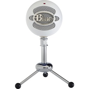 Blue Snowball Microphone - 40 Hz to 18 kHz - Wired - Condenser - Cardioid-Omni-directional