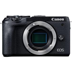 Canon EOS M6 Mark II 32.5 Megapixel Mirrorless Camera Body Only - Black - Autofocus - 3in