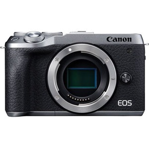 Canon EOS M6 Mark II 32.5 Megapixel Mirrorless Camera Body Only - Silver