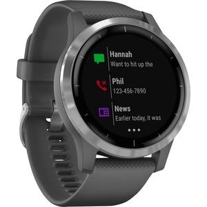 Garmin vfvoactive 4 GPS Watch - Wrist - Heart Rate Monitor-Barometer-Altimeter-Acceleromet