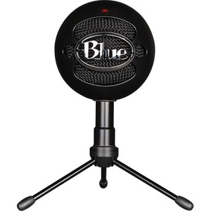 Blue Snowball iCE Microphone - 40 Hz to 18 kHz - Wired - Condenser - Cardioid - Stand Moun