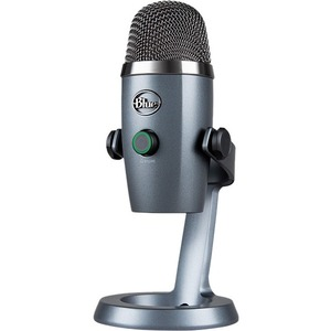 Blue Yeti Nano Microphone - 20 Hz to 20 kHz - Wired - Condenser - Cardioid-Omni-directiona