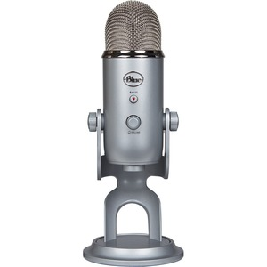 Blue Yeti Wired Condenser Microphone - Stereo - 20 Hz to 20 kHz - Cardioid-Bi-directional-