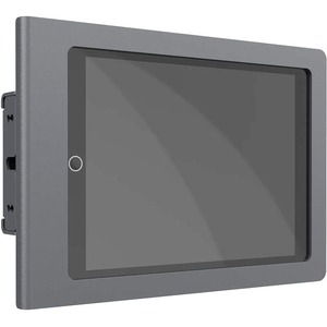 Heckler Design Mullion Mount for iPad (7th Generation) - Black Gray - TAA Compliant