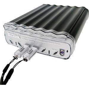 8TB 2.5IN RAID 0 2KEYS 512-BIT AES SSD