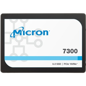 "Micron 7300 7300 PRO 960 GB Solid State Drive - 2.5"" Internal - U.2 (SFF-8639) NVMe (PCI Express NVMe 3.1 x4) - Read Int"