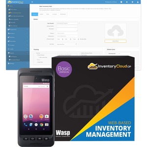 Wasp DR4 Handheld Terminal - 3 GB RAM - 32 GB Flash - 4.7inTouchscreen
