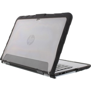 Gumdrop DropTech For HP x360 310 G2 Convertible PC - For HP Notebook - Black-Transparent -