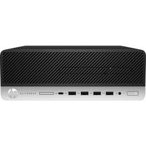 HP EliteDesk 705 G5 Desktop Computer - AMD Ryzen 5 PRO 2nd Gen 3400G 3.70 GHz - 8 GB RAM D