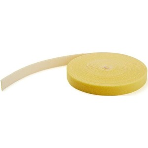 100FT BULK ROLL OF YELLOW HOOK AND LOOP TAPE 3/4IN (19MM) WIDE - CUT TO NEEDED L