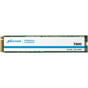 Micron 7300 7300 MAX 400 GB Solid State Drive - M.2 2280 Internal - PCI Express NVMe (PCI Express NVMe 3.0 x4) - Mixed U