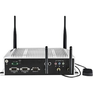 Advantech In-Vehicle NVR w/4 PoE Ports Intel Atom E3825 / Atom E3845 SoC Fanless Box PC -
