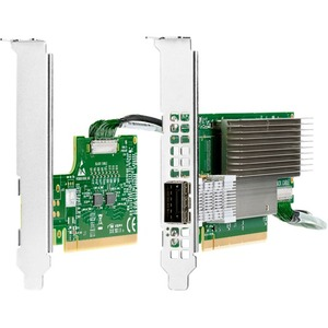 HPE InfiniBand HDR/Ethernet 200Gb 1-port QSFP56 MCX653105A-HDAT PCIe 4 x16 Adapter - PCI E