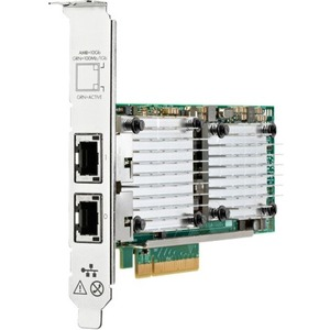 HPE Ethernet 10Gb 2-port Base-T QL41132HLRJ Adapter - PCI Express 3.0 x8 - 2 Port(s) - 2 -
