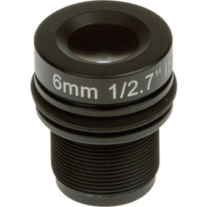 AXIS - 6 mm - f/1.9 - Fixed Lens for M12-mount - Designed for Surveillance Camera