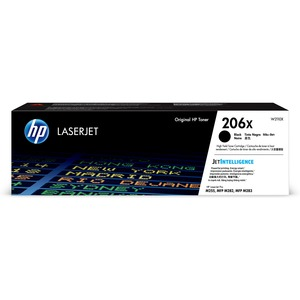 HP 206X HIGH YIELD BLACK ORIGINAL LASERJET TONER CARTRIDGE W2110X
