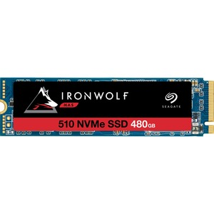 Seagate IronWolf 510 ZP480NM30011 480 GB Solid State Drive - M.2 2280 Internal - PCI Express - Conventional Magnetic Rec