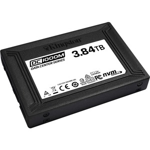 Kingston DC1000M 3.84 TB Solid State Drive - 2.5inInternal - U.2 (SFF-8639) NVMe (PCI Exp