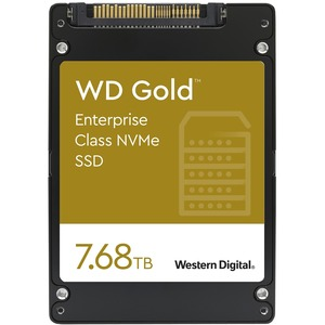 7.68TB WD GOLD PCIE NVME SSD