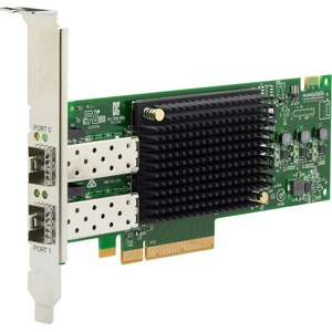 HPE SN1610E 32Gb 2-port Fibre Channel Host Bus Adapter - PCI Express 4.0 - 32 Gbit/s - 2 x