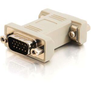 C2G HD15 M/M VGA Gender Changer (Coupler)