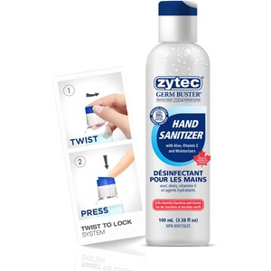 Zytec Clear Gel Hand Sanitizer Pro 100 mL