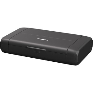 THE PIXMA TR150 IS A SMALL & SLEEK PORTABLE PRINTER FOR AT HOME IN THE OFFICE
