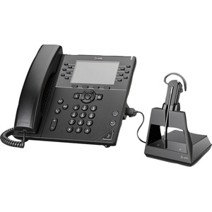 Plantronics Voyager 4245 CD Headset - Mono - Wireless - Bluetooth - 328.1 ft - 20 Hz - 20