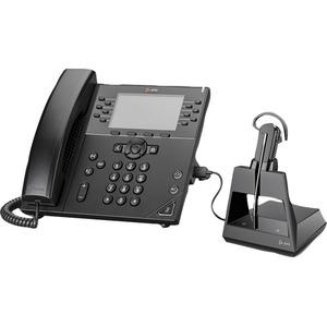 Plantronics Voyager 4245 CD-Microsoft Headset - Mono - Wireless - Bluetooth - 328.1 ft - 2