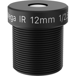 AXIS - 12 mm - f/1.6 - Fixed Lens for M12-mount - Designed for Surveillance Camera