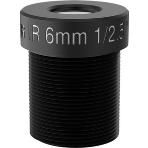 AXIS - 6 mm - f/2 - Fixed Lens for M12-mount - Designed for Surveillance Camera
