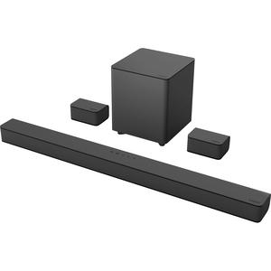 VIZIO V51-H6 5.1 Bluetooth Smart Speaker - Alexa-Google Assistant-Siri Supported - Black -