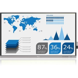 Optoma Creative Touch 5651RK 65inLED Touchscreen Monitor - 8 ms - 65inClass - InfraredMu