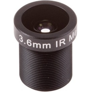 AXIS - 3.60 mm - f/1.8 - Fixed Lens for M12-mount - Designed for Surveillance Camera