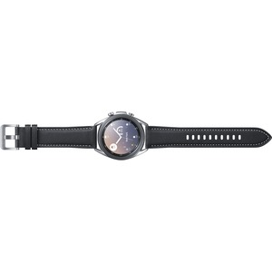 Samsung Galaxy Watch3 (41MM)-Mystic Silver (Bluetooth) - ECG Sensor-Accelerometer-Baromete