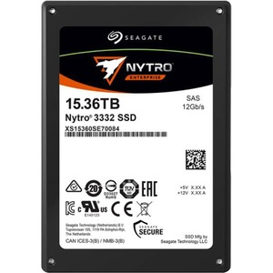 Seagate Nytro 3032 XS15360SE70084 15.36 TB Solid State Drive - 2.5inInternal - SAS (12Gb/
