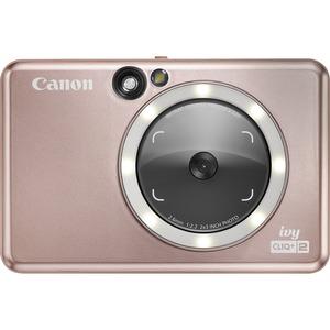 Canon IVY CLIQ+2 8 Megapixel Instant Digital Camera - Rose Gold - Autofocus - Optical View