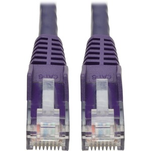 TRIPP LITE 20FT CAT6 PURPLE SNAGLESS MOLDED RJ45 M/M PATCH CABLE UTP