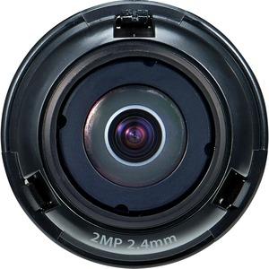 Wisenet SLA-2M2402D - 2.40 mm - f/2 - Fixed Lens - Designed for Surveillance Camera - 1.4