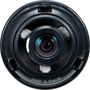 Wisenet SLA-2M6002D - 6 mm - f/2 - Fixed Lens - Designed for Surveillance Camera - 1.4inD