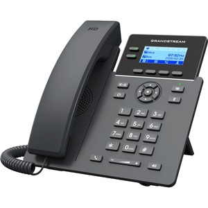 Grandstream GRP2602 IP Phone - Corded - Corded - Wall Mountable-Desktop - 2 x Total Line -