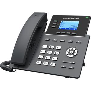 Grandstream GRP2603 IP Phone - Corded - Corded - Wall Mountable-Desktop - 3 x Total Line -